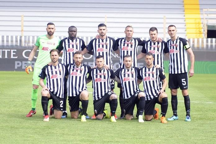 Ascoli Calcio (aprile 2018, foto da Pagina Facebook ufficiale)