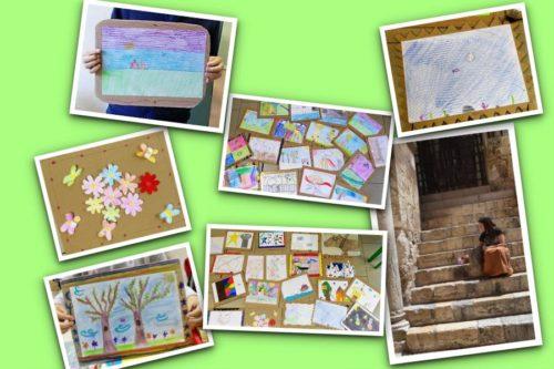 Doni d'arte e abbandoni: i bambini seguono l'insegnamento di Stefania Bressani