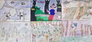 Daniel e il tulipano gigante laboratorio scolastico