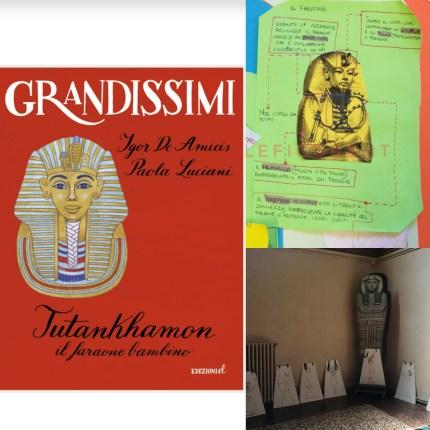 Tutankhamon il faraone bambino classe quarti scuola primaria musei egizio di Bologna