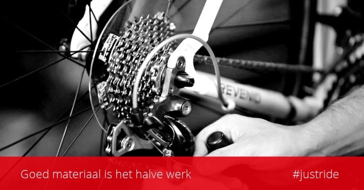 ASC Olympia - Routiers Cycling Club | Goed materiaal is het halve werk