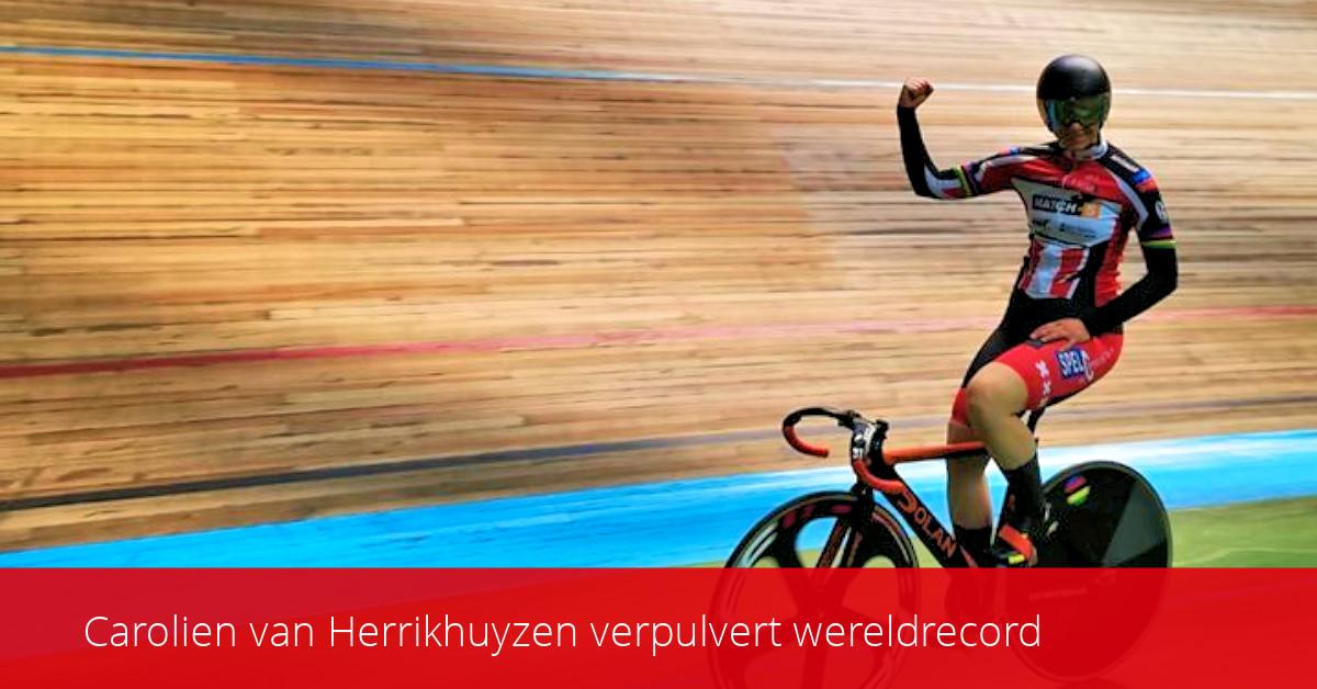 ASC Olympia - Carolien van Herrikhuyzen verpulvert wereldrecord
