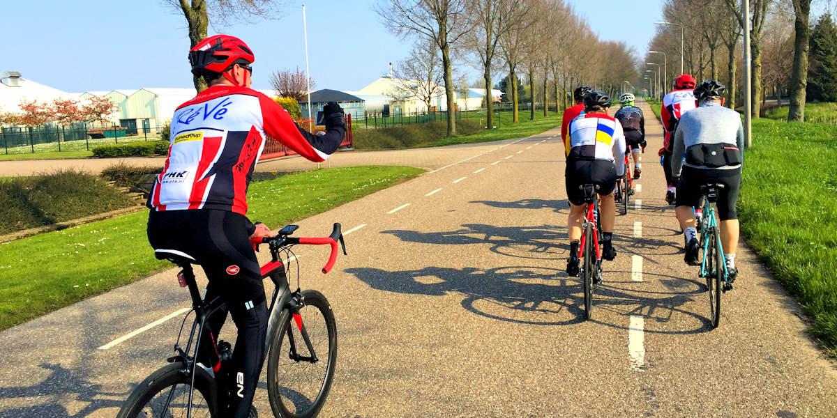 ASC Olympia - Verboden vanaf 1 juli: telefoon tijdens het fietsen