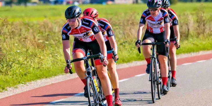 ASC Olympia - Women Racing en de Vrouwenwielrennen Competitie 2019 | Foto: Duane van der Geld
