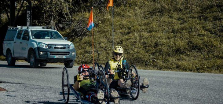 Handbiken naar Val Thorens