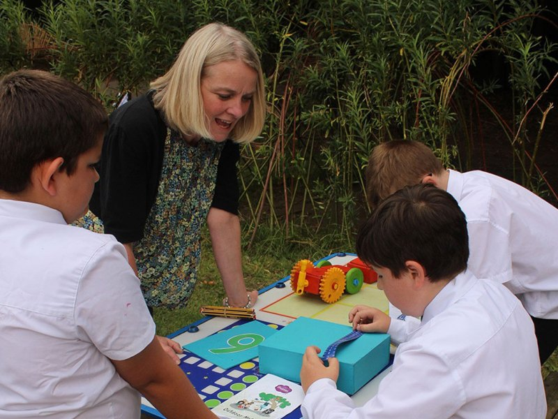 Outdoor Maths – Whatever the Weather!