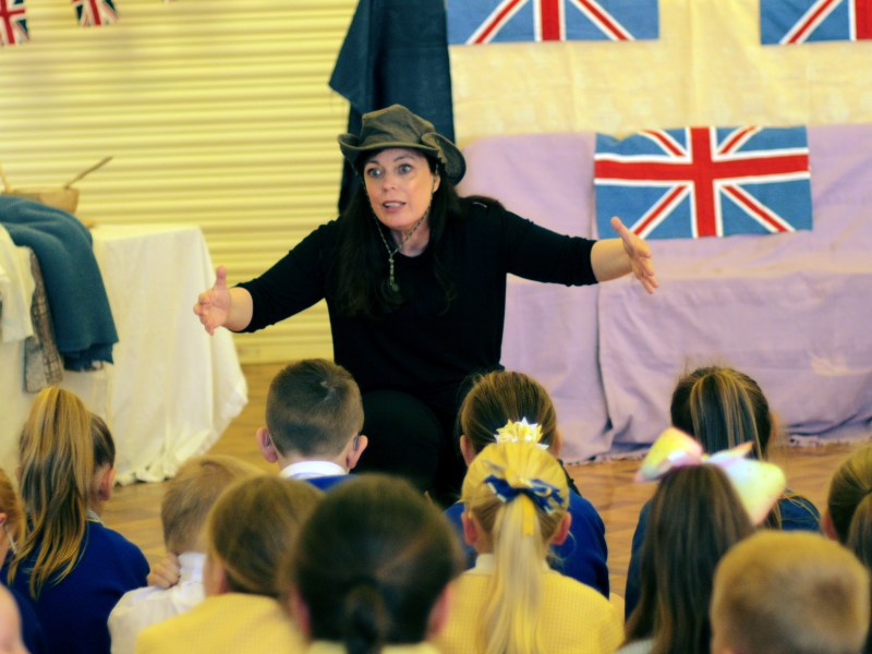 WW2 School Workshops – Time Travel Theatre World War II – School History Visit