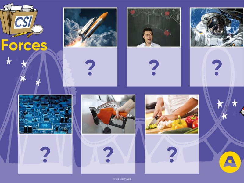 New! Science Workshops for KS1: CSI: Forces