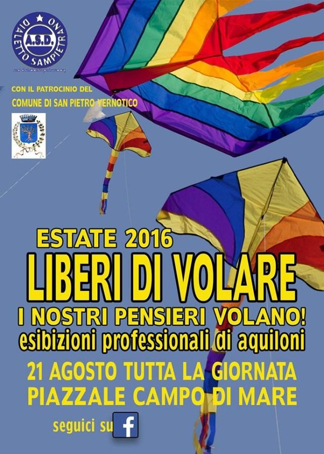 LIBERI DI VOLARE - CAMPO DI MARE ESTATE 2016