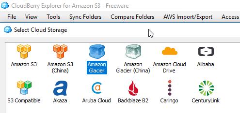 CloudBerry Explorer for Amazon S3 - Amazon Glacier