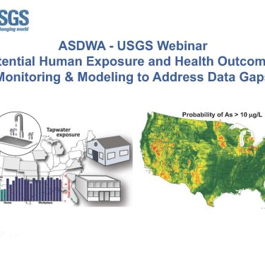 ASDWA - USGS Webinar: Potential Human Exposure and Health Outcomes; Modeling Processes and Monitoring Tap Water