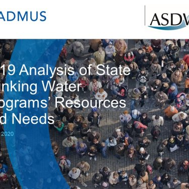 Analysis of State Drinking Water Programs' Resources and Needs: Overview