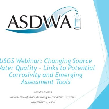 Changing Source Water Quality - Links to Potential Corrosivity and Emerging Assessment Tools