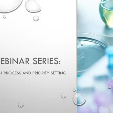 DBP Webinar Series: DBP Optimization Process and Priority Setting