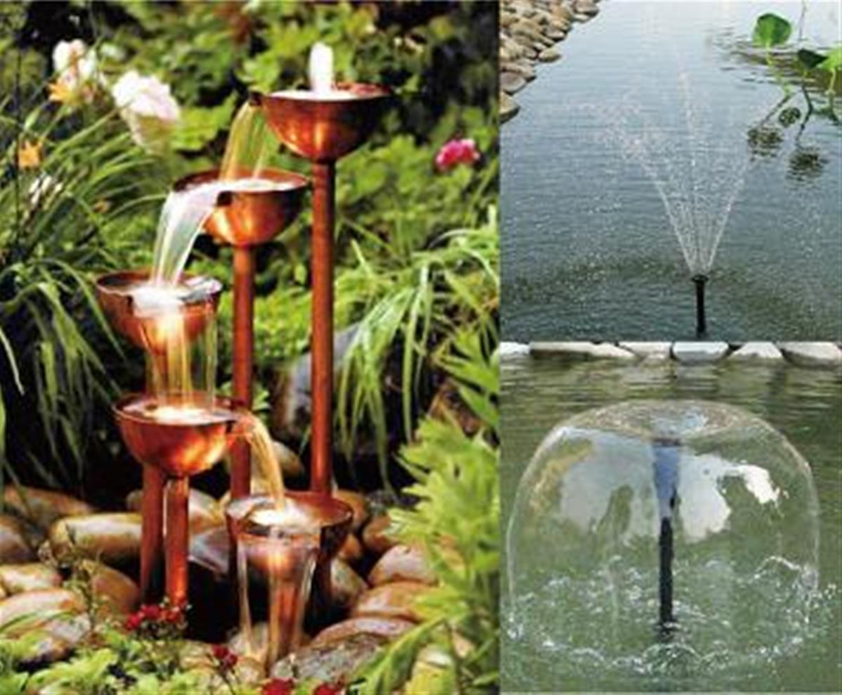 pompe solaire 16w 12 24v 1500l h pour bassin fontaine piscine