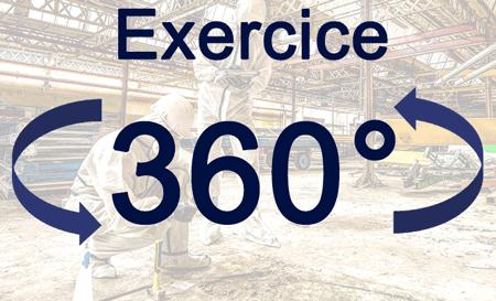 Exercice en VR 360