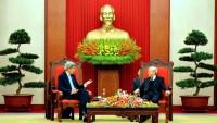 Secretary Kerry Addresses Vietnamese Communist Party Secretary General Trong