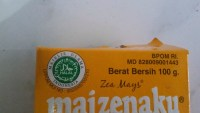 A halal logo on a food product in Indonesia