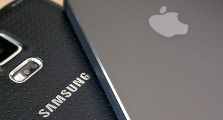 Samsung y Apple continúan con su guerra de patentes