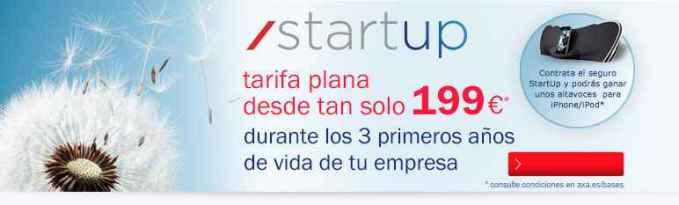 Axa Start up para empresas