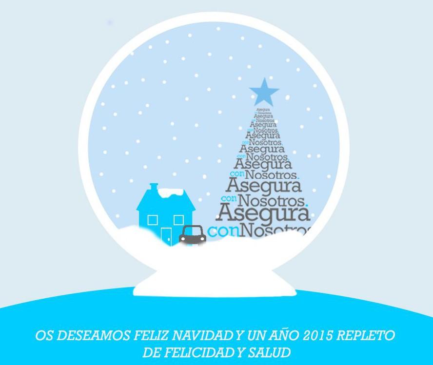 Feliz navidad y gracias por compartir este año con nosotros!