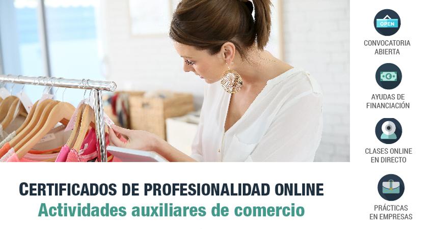certificado de profesionalidad operaciones comercio