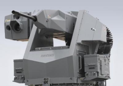 Aselsan 25 mm STOP Remote Controlled Stabilized Naval Gun System.