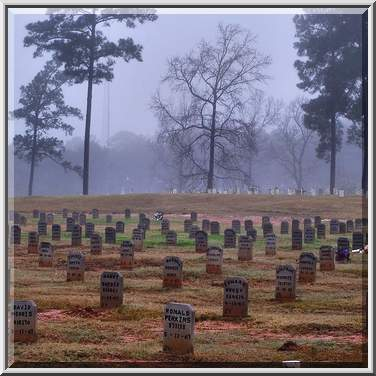 TDCJ Captain Joe Byrd (Peckerwood Hill) Prison Cemetery. Huntsville, Texas