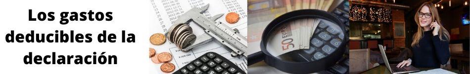 Gastos que se pueden deducir en la renta