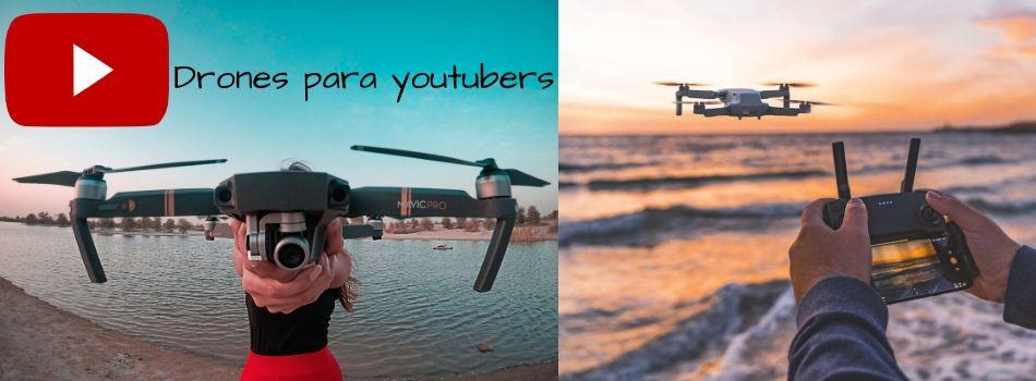 Los mejores drones para youtubers influencers