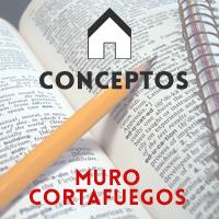 MEDIANEROS y MUROS CORTAFUEGOS: definiciones