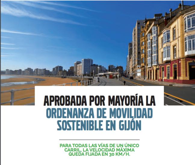 ordenanza de movilidad en Gijón