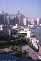 Looking over Hong Kong