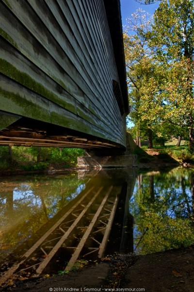 Kennedy Covered Bridge (Long Side-view)