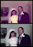Wedding Picture Restoration (circa 1950s)