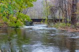 Looking downstream at bridge