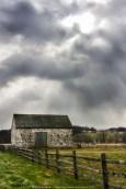 Abiah Taylor Barn w/Storm Clouds (2010)