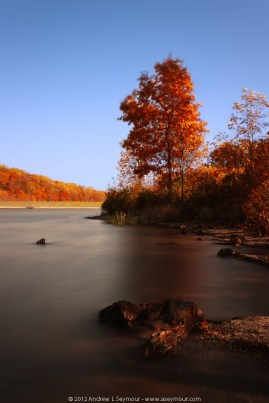 Fall at Chamber Lake (2012)