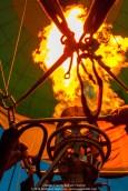Glowing Balloon Flames 067