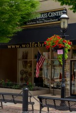 Wolfe's Baldwin Brass Center for Country Lines Magazine.