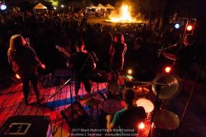 Images of the musical bands from the 2017 Black Walnut Fire & Wine Festival in Sadsburyville, Chester County, PA.