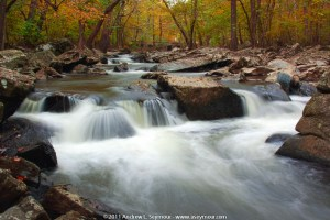 Fall (2011) image taken of the Brandywine River in Hibernia Park in Chester County PA.
