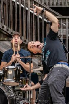 The Holt 45 band - Rob Holt, Christopher Holt