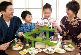 Uniknya: Nagashi Somen, Menikmati Mie dalam Pipa Panjang Bambu