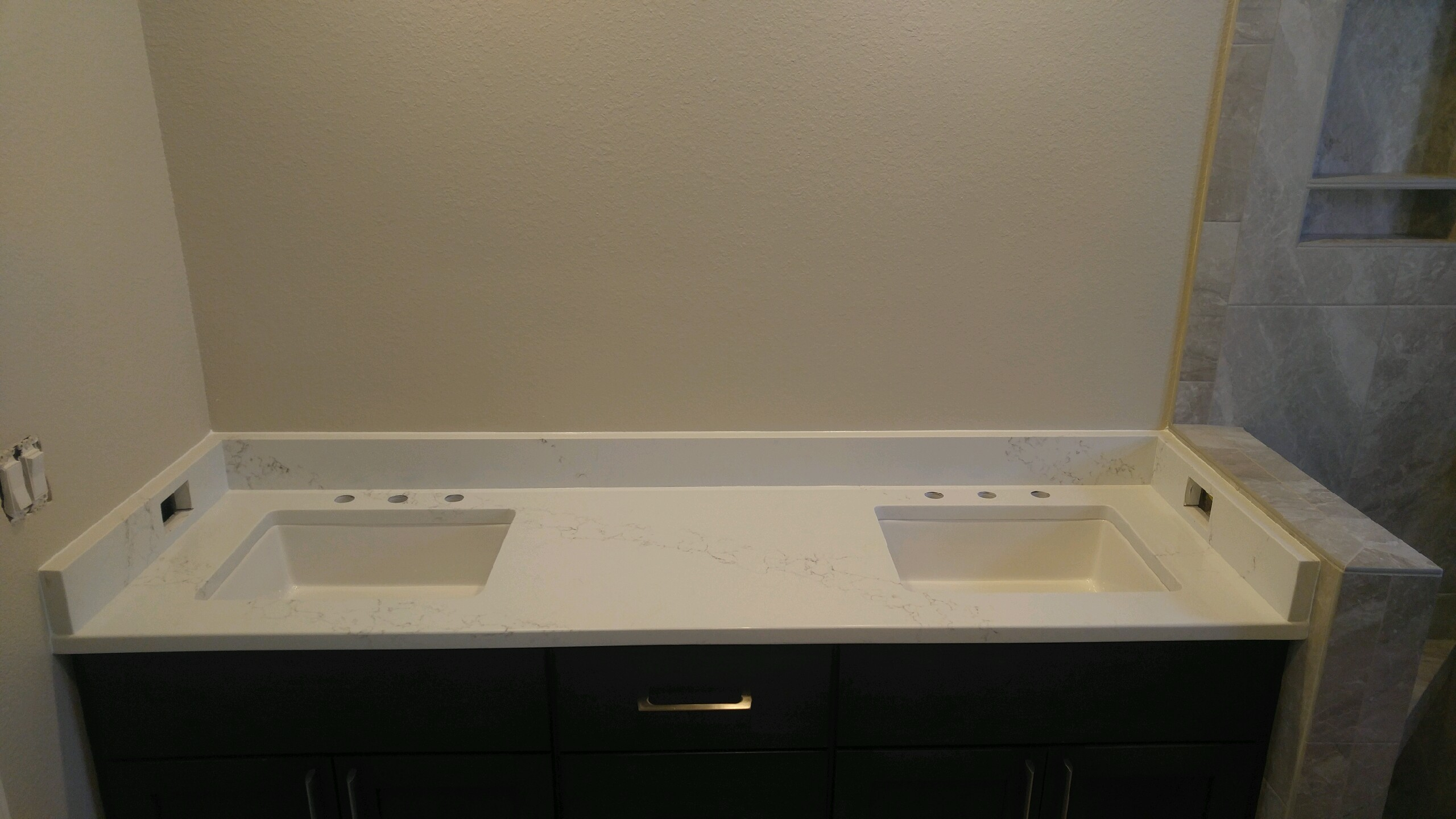 cherry and quartz waypoint countertops cabinets tampa bordeaux pin caesarstone finish with a