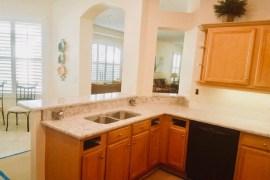 Silestone Pietra Grey quartz kitchen remodel in Tampa Florida