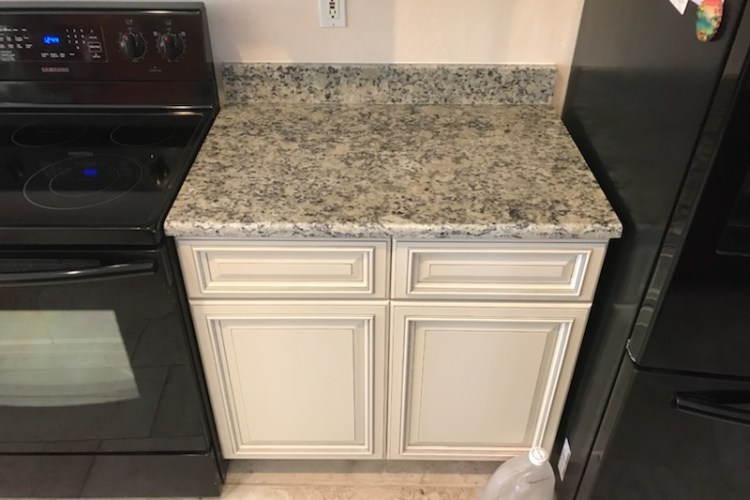 Granite countertops for the kitchen