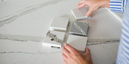 Quartz selections with standard edge selections, Tampa Bay, FL