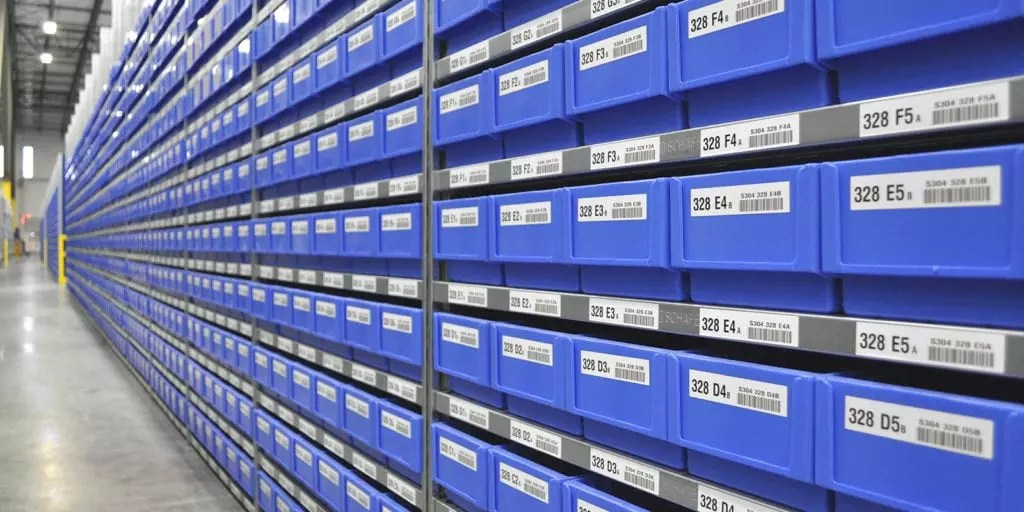 warehouse labels for inventory control