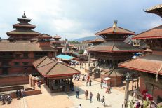 Durbar Square from above.